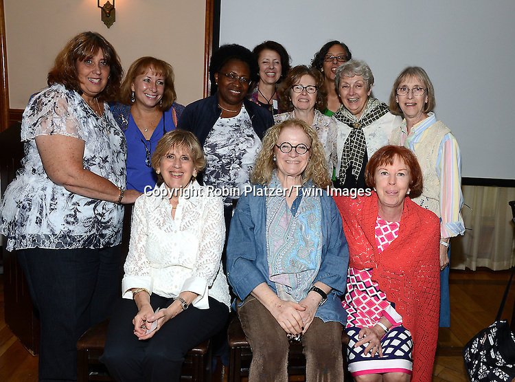 The committee attends the Big Apple Knitters Guild Luncheon on September 20, 2014 at Maloney &amp; Porcelli in New York City.<br /> <br /> photo by Robin Platzer/Twin Images<br />  <br /> phone number 212-935-0770