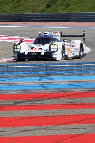 28.03.2015.  Le Castellet, France. World Endurance Championship Prologue Day 2. Porsche Team Porsche 919 Hybrid driven byRomain Dumas, Neel Jani and Marc Lieb.