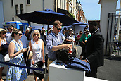 June 19th 2017, Queens Club, West Kensington, London; Aegon Tennis Championships, Day 1; Bags are searched by security outside the main gates