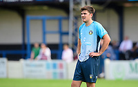 Gainsborough Trinity's Joe Maguire<br /> <br /> Photographer Chris Vaughan/CameraSport<br /> <br /> Football Pre-Season Friendly (Community Festival of Lincolnshire) - Gainsborough Trinity v Lincoln City - Saturday 6th July 2019 - The Martin & Co Arena - Gainsborough<br /> <br /> World Copyright © 2018 CameraSport. All rights reserved. 43 Linden Ave. Countesthorpe. Leicester. England. LE8 5PG - Tel: +44 (0) 116 277 4147 - admin@camerasport.com - www.camerasport.com