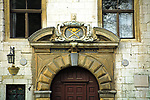 Portal Collegium Iuridicum Uniwersytetu Jagiellonskiego, Krakow<br /> Portal of the Jagiellonian University in Cracow; building of Collegium Iuridicum, Poland