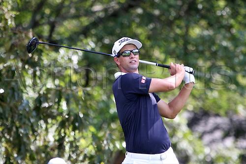 23.09.2016. Atlanta, Georgia, USA.    Adam Scott during the second round of the 2016 PGA Tour Championship at East Lake Golf Club in Atlanta, Georgia.