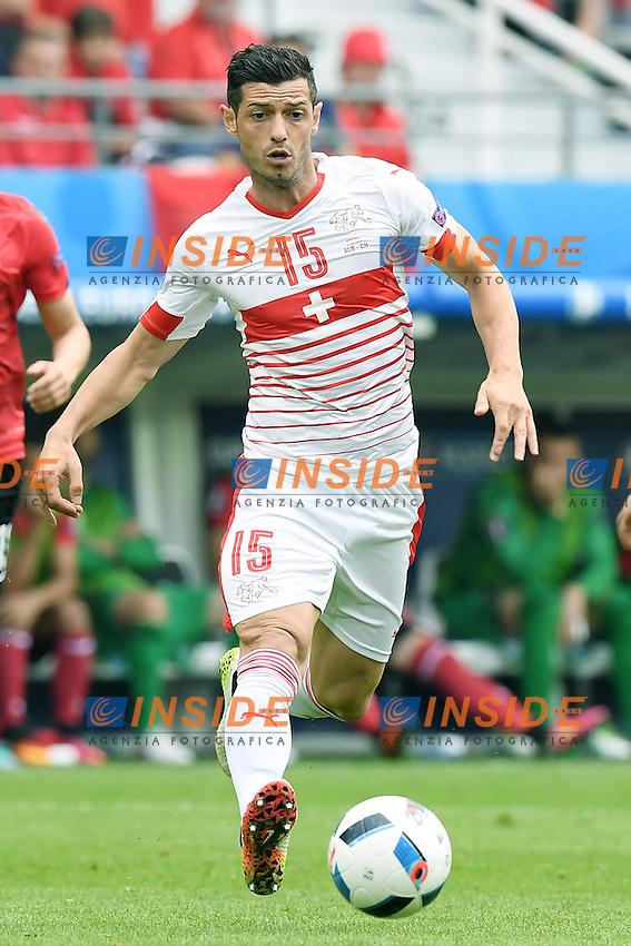 Lens 11-06-2016 Stade Bollaert-Delelis Football  - Euro 2016 / Albania - Switzerland / foto Matteo Gribaudi/Image Sport/Insidefoto<br /> nella foto: Blerim Dzemaili