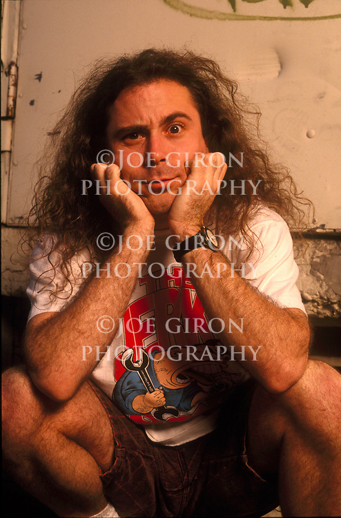 Anthrax vocalist, John Bush, poses for a portrait session