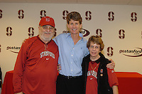13 November 2005: Amy Tucker during Stanford's 92-65 win over Love and Basketball at Maples Pavilion in Stanford, CA.