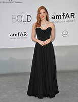 Jessica Chastain  at the 21st annual amfAR Cinema Against AIDS Gala at the Hotel du Cap d'Antibes.<br /> May 22, 2014  Antibes, France<br /> Picture: Paul Smith / Featureflash