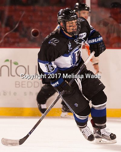 Andrew McDonald (Bentley - 13) - The Bentley University Falcons defeated the Army West Point Black Knights 3-1 (EN) on Thursday, January 5, 2017, at Fenway Park in Boston, Massachusetts.The Bentley University Falcons defeated the Army West Point Black Knights 3-1 (EN) on Thursday, January 5, 2017, at Fenway Park in Boston, Massachusetts.