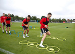Nathan Thomas of Sheffield Utd during the training session at the Shirecliffe Training complex, Sheffield. Picture date: June 27th 2017. Picture credit should read: Simon Bellis/Sportimage
