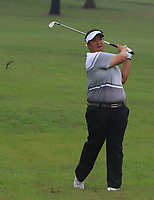Kiradech Aphibarnrat (Asia) on the 3rd fairway during the Saturday Foursomes of the Eurasia Cup at Glenmarie Golf and Country Club on the 13th January 2018.<br /> Picture:  Thos Caffrey / www.golffile.ie