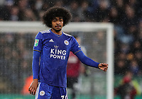 Leicester City's Hamza Choudhury<br /> <br /> Photographer Andrew Kearns/CameraSport<br /> <br /> English League Cup - Carabao Cup Quarter Final - Leicester City v Manchester City - Tuesday 18th December 2018 - King Power Stadium - Leicester<br />  <br /> World Copyright &copy; 2018 CameraSport. All rights reserved. 43 Linden Ave. Countesthorpe. Leicester. England. LE8 5PG - Tel: +44 (0) 116 277 4147 - admin@camerasport.com - www.camerasport.com