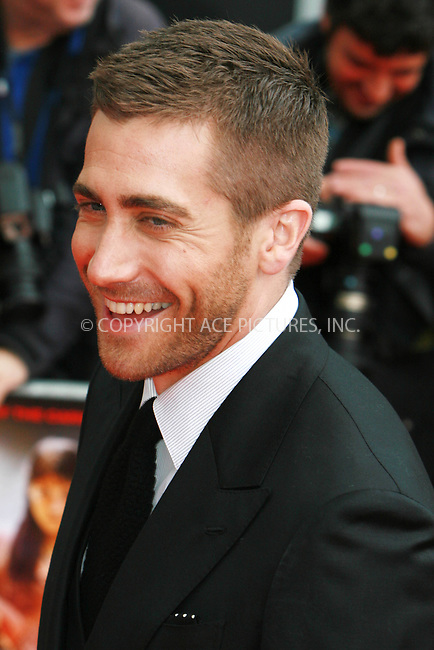 WWW.ACEPIXS.COM . . . . .  ..... . . . . US SALES ONLY . . . . .....May 9 2010, London....Actor Jake Gyllenhaal arriving at the World Premiere of 'Prince of Persia: The Sands of Time' at the Vue Westfield on May 9, 2010 in London, England.....Please byline: FAMOUS-ACE PICTURES... . . . .  ....Ace Pictures, Inc:  ..tel: (212) 243 8787 or (646) 769 0430..e-mail: info@acepixs.com..web: http://www.acepixs.com