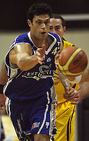Saints forward Arthur Trousdell during the NBL Round 9 match between the Wellington Saints and Nelson Giants at TSB Bank Arena, Wellington, New Zealand on Thursday 7 May 2009. Photo: Dave Lintott / lintottphoto.co.nz