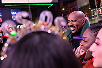 NEW YORK CITY - DECEMBER 31: Host Steve Harvey appears on FOX'S NEW YEAR'S EVE WITH STEVE HARVEY: LIVE FROM TIMES SQUARE on December 31, 2019 in New York City. (Photo by Anthony Behar/Fox/PictureGroup)