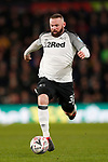 Wayne Rooney of Derby County during the FA Cup match at the Pride Park Stadium, Derby. Picture date: 5th March 2020. Picture credit should read: Darren Staples/Sportimage