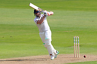 Simon Harmer in batting action for Essex during Essex CCC vs Yorkshire CCC, Specsavers County Championship Division 1 Cricket at The Cloudfm County Ground on 4th May 2018