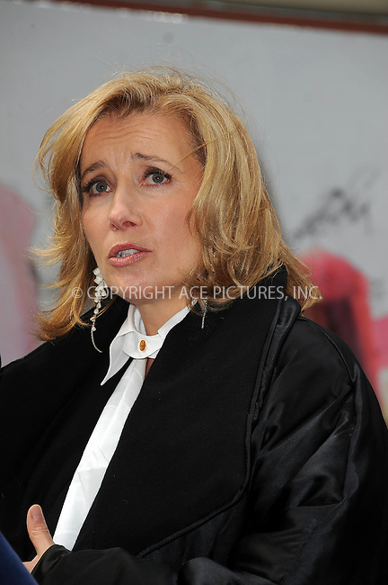 "WWW.ACEPIXS.COM . . . . . ....November 10 2009, New York City....Actress Emma Thompson at the opening of the ""Journey"" exhibition at Washington Square Park on November 10, 2009 in New York City.....Please byline: KRISTIN CALLAHAN - ACEPIXS.COM.. . . . . . ..Ace Pictures, Inc:  ..tel: (212) 243 8787 or (646) 769 0430..e-mail: info@acepixs.com..web: http://www.acepixs.com"