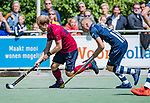 DEN HAAG -  met  Niels Blaak (HDM)  tijdens  de eerste Play out wedstrijd hoofdklasse heren ,  HDM-HCKZ (1-2) . . COPYRIGHT KOEN SUYK