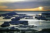 Sunrise over Lake Superior, in Michigan's Upper Peninsula.