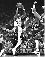Warriors Purvis Short against the  New York Kn icks<br />