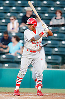 July 13, 2009:  Adron Chambers of the Palm Beach Cardinals during a game at Hammond Stadium in Ft. Myers, FL.  Palm Beach is the Florida State League High-A affiliate of the St. Louis Cardinals.  Photo By Mike Janes/Four Seam Images