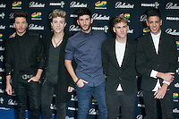 Auryn attend the 40 Principales Awards at Barclaycard Center in Madrid, Spain. December 12, 2014. (ALTERPHOTOS/Carlos Dafonte) /NortePhoto