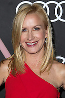 LOS ANGELES, CA - JANUARY 09: Actress Angela Kinsey arrives at the Audi Golden Globe Awards 2014 Cocktail Party held at Cecconi's Restaurant on January 9, 2014 in Los Angeles, California. (Photo by Xavier Collin/Celebrity Monitor)