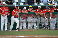 SAN ANTONIO, TX - APRIL 18, 2006: The University of Texas Longhorns vs. The University of Texas at San Antonio Roadrunners Baseball at Nelson Wolff Stadium. (Photo by Jeff Huehn)
