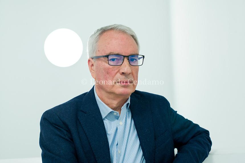 Luciano Mecacci, è un psicologo italiano, scrittore. © Leonardo Cendamo