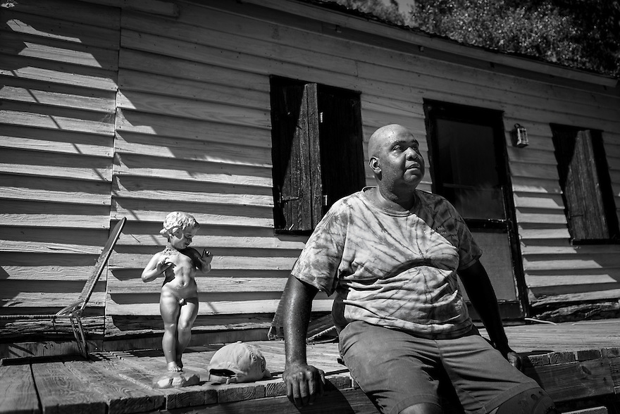 Freddie Grant like many Gullah Geechee on Daufuskie, can trace his roots back generations and he now lives in what was his mother's home.