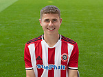 Zak Brunt during the U18  2019/20 Photocall at Bramall Lane, Sheffield. Picture date: 17th September 2019. Picture credit should read: Simon Bellis/Sportimage