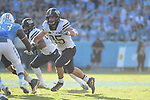 PITTSBURGH, PA, SEPT 24: The Pitt football team travels to take on the North Carolina Tar Heels at Kenan Memorial Stadium in Chapel Hill, North Carolina on September 24, 2016.<br /> Photographer: Pete Madia/Pitt Athletics