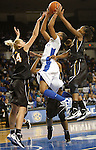 UK guard A'dia Mathies goes up for a shot during the first half of the UK Women's basketball game against Southern Miss on 11/19/11 in Lexington, KY. Photo by Quianna Lige | Staff