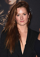 "HOLLYWOOD- DECEMBER 12:  Grace Gummer at the world premiere of ""Pitch Perfect 3"" at the Dolby Theatre on December 12, 2017 in Hollywood, California. (Photo by Scott Kirkland/PictureGroup)"