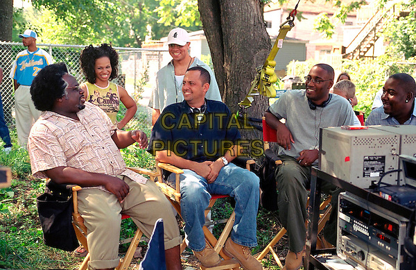 CEDRIC THE ENTERTAINER, MARCIA WRIGHT, JASON YOUNG, BOB TEITEL (PRODUCER, GEORGE TILLMAN JR (PRODUCER) & SHAKIM COMPERE.in Barbershop 2: Back In Business.Filmstill - Editorial Use Only.CAP/AWFF.supplied by Capital Pictures.