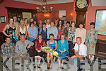 RETIRMENT: Bridie Mai Ferris-O'Halloran, Ballyheigue seated centre who retired from HSE Tralee after 35 years service and on friday night her friends from the HSE held a party for Bridie in The Imperial Hotel, Tralee. ....