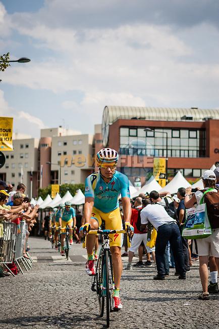 Astana Pro Team, Tour de France, Stage 21: Évry > Paris Champs-Élysées, UCI WorldTour, 2.UWT, Paris Champs-Élysées, France, 27th July 2014, Photo by Pim Nijland