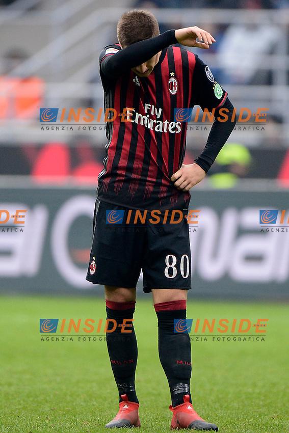Mario Pasalic Milan<br /> Milano 4-12-2016 Stadio Giuseppe Meazza - Football Calcio Serie A Milan - Crotone Foto Giuseppe Celeste / Insidefoto