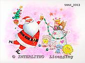 GIORDANO, CHRISTMAS SANTA, SNOWMAN, WEIHNACHTSMÄNNER, SCHNEEMÄNNER, PAPÁ NOEL, MUÑECOS DE NIEVE, paintings+++++,USGI2313,#X#