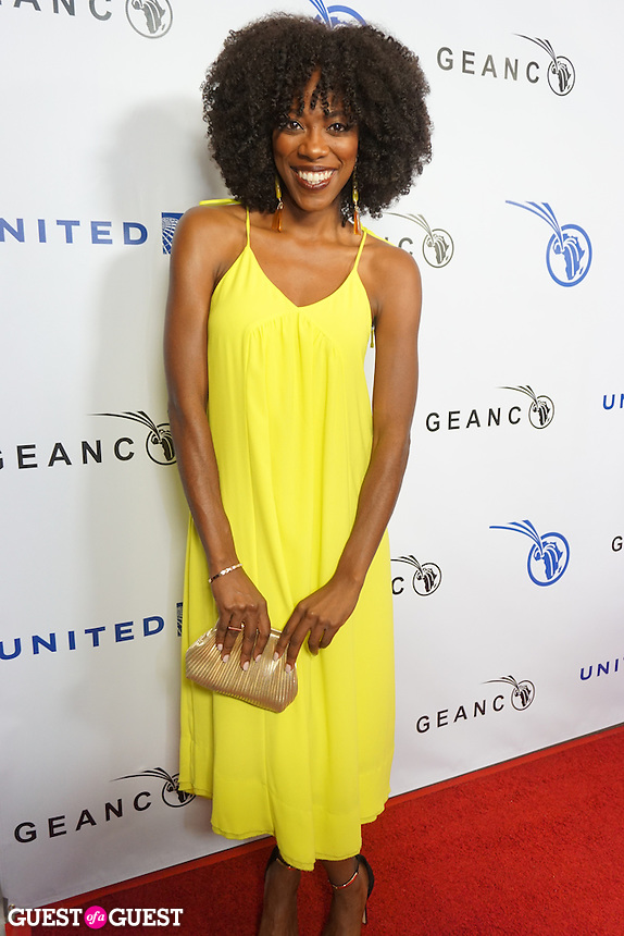 Yvonne Orji attends The GEANCO Foundation's annual Hollywood fundraiser on Friday, Oct. 21, at Spectra in the Pacific Design Center.
