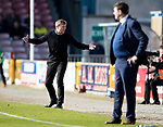 Inverness Caley v St Johnstone&hellip;08.04.17     SPFL    Tulloch Stadium<br />Richie Foran goes nuts<br />Picture by Graeme Hart.<br />Copyright Perthshire Picture Agency<br />Tel: 01738 623350  Mobile: 07990 594431