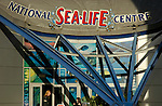 The National Sealife Centre in Brindleyplace Birmingham England
