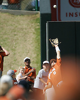 Texas Longhorns OF Kyle Lusson during the 2008 season. Photo by Andrew Woolley / Four Seam Images.