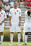 04 September 2011: NCSU's Nader Jaibat. The University of California Santa Barbara Broncos defeated the North Carolina State University Wolfpack 1-0 at Koskinen Stadium in Durham, North Carolina in an NCAA Division I Men's Soccer game.