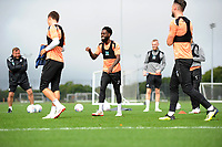 Nathan Dyer of Swansea City during the Swansea City Training Session at The Fairwood Training Ground, Wales, UK. Tuesday 11th September 2018