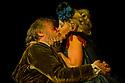 "Bath, UK. 25/07/2011. ""Henry IV, Part II"", part of the Peter Hall season at Theatre Royal Bath. Desmond Barrit as Sir John Falstaff and Wendy Morgan as Doll Tearsheet. Photo credit: Jane Hobson"