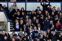 Sheffield Wednesday v Cardiff .Sky Bet Championship ....... Sheffield Wednesday Chairman Dejphon Chansiri celebrates his side gaining a play off spot