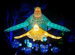 Marine Turtle lanterns during the Vivid 2016 Sydney Festival at Taronga Zoo, Sydney Australia.