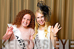 Arizona Rose Holly Nordquist pictured with her Rosebud Aoife Scanlon at the Carlton Hotel at the Rose of Tralee on Friday.