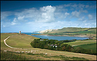 BNPS.co.uk (01202 558833)<br /> Pic: LandmarkTrust/BNPS<br /> <br /> Clavell Tower in it's spectacular location on the Jurassic Coast of Dorset.<br /> <br /> Sold out in five minutes flat - Booking frenzy for Britain's most popular...and windswept room.<br /> <br /> The latest release of dates for Britain's most booked up room sold out in an astonishing five minute's flat this week, meaning you can't now book in to the romantic tower on the Dorset coast untill 2020 at earliest.