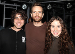 Josh Young, Paul Nolan & Chilina Kennedy.attending the Opening Night Actors' Equity Gypsy Robe Ceremony for Recipient Mark Cassius from 'Jesus Christ Superstar' at the Neil Simon Theatre, New York City. 3/22/2012